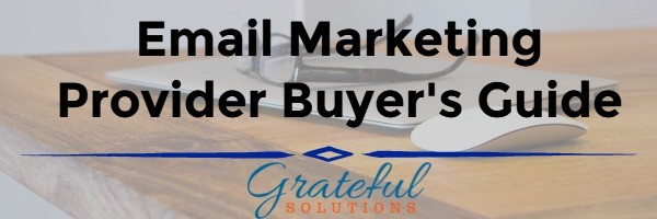 Email Marketing Provider Buyer's Guide